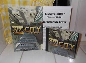 NEW SIM CITY 3000 + Sim City 3000 Holiday Theme Edition PC Game Big Box Edition