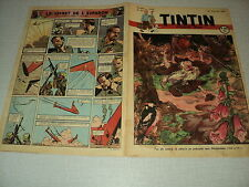 TINTIN 1947/29 (17/7/47) EDGAR P JACOBS LE SECRET DE L'ESPADON HERGE