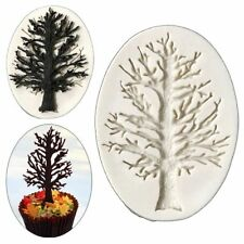 DIY 3D Tree Silicone Fondant Mold Cookie Cutter Cake Decoration Mold