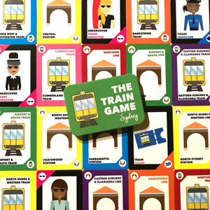 The Train Game - The Train Game Sydney Edition