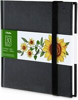 """Ohuhu Hardcover Sketch Book 6.9"""" × 6.5"""" Mini Size Designed for Alcohol Markers"""