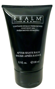 Realm for Men After Shave Balm With Human Pheromones 3.3 oz / 100 mL - BRAND NEW