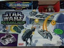 1994 Galoob - Micro Machines - Star Wars - Ice Planet Hoth Playset #65872