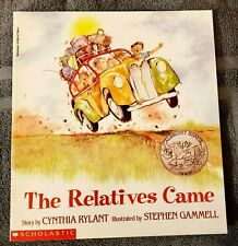 THE RELATIVES CAME by Cynthia Rylant 1993 First Scholastic Printing RL 2