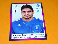 100 CHARISTEAS HELLAS GRECE FOOTBALL PANINI UEFA EURO 2012