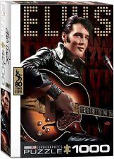 Elvis Presley With Guitar 1000 piece jigsaw puzzle 490mm x 680mm (pz)