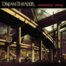 """DREAM THEATER """"SYSTEMATIC CHAOS"""" CD+DVD NEW+"""