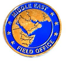 "Nice 1.5"" US NAVY Military Challenge Coin NCIS Middle East Field Office"