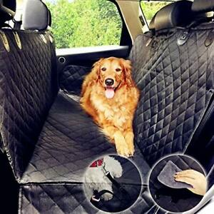 Waterproof Dog Car Seat Cover with Side Flaps, Heavy Duty Non Slip, (137x147cm)