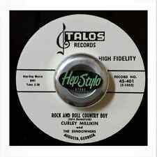 CURLEY MILLIKIN 45 RE-ROCK & ROLL COUNTRY BOY- TALOS JIVING ROCKER ♪♪LISTEN♪♪