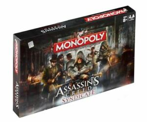 Assassins Creed Syndicate Edition Monopoly (One Size) (Multicoloured)