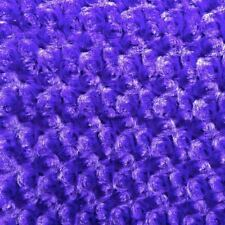 "Purple  RoseBud Minky fabric per yard blanket throw lining 58"" wide"
