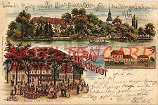 Lithographien vor 1914 aus Sachsen-Anhalt mit dem Thema Eisenbahn & Bahnhof