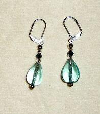 Mode-Ohrschmuck im Hänger-Stil aus Glas mit Perlen (Imitation)