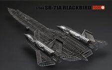3D Metallic Puzzle Educational Jigsaw Toys DIY 1/144 Model SR-71A Blackbird toys