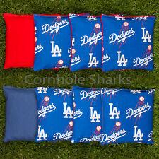 Cornhole Bean Bags Set of 8 ACA Regulation Bags LA Dodgers Free Shipping