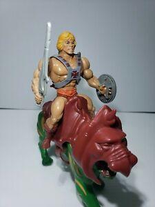 Lot Vintage 1982 Mattel He-Man & Battlecat Complete