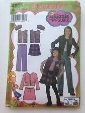 Simplicity 4895 Lizzie McGuire Pattern Size HH 3 4 5 6 Jacket Vest Pants Skirt
