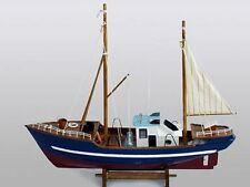 HANDMADE WOODEN FISHING BOAT MODEL CASW41561