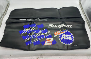 Vintage NOS Snap-On Racing Mike Wallace Team ASE 36X22 Fender Cover Pad. SPP841.