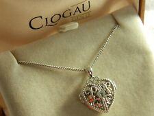 Clogau Silver & 9ct Rose Gold Kensington Heart Lock Locket RRP £149.00