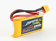 Zippy Compact 1300mAh 2S 7.4V 40C 50C RC LiPo Battery Pack XT60 XT-60 Heli