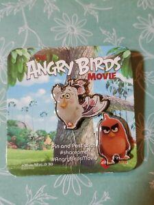 ANGRY BIRDS (2016) - Original Promo Movie Pin Set of 2 AMC - Brand New on Card