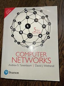 New:COMPUTER NETWORKS, by TANENBAUM, 5TH iNTL ED