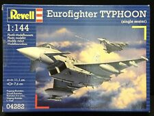 Boxed 1:144 Revell EUROFIGHTER TYPHOON Model Kit Number 64282