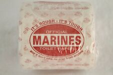 Official MARINES Novelty Toilet Paper IT'S ROUGH - IT'S TOUGH Military Gag Gift