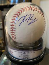 "Kris Bryant Autographed Encapsulated Baseball JSA Rated ""10"""