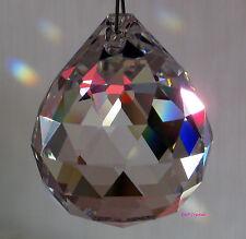 Colgante Gota De Cristal Arco Iris Prisma Suncatcher Feng Shui móvil carillón de viento