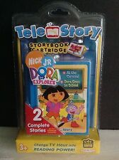 TELE STORY Storybook Cartridge,Nick Jr. DORA THE EXPLORER, 2 Complete Stories