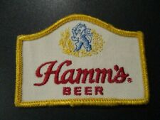 HAMMS BREWING CO vintage logo PATCH sew on craft beer brewing brewery