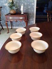 Lenox Gold Rimmed Dessert/ Soup Bowls by Tiffany