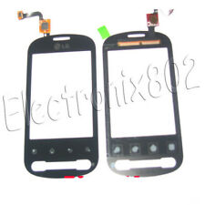 LG Optimus ME P350 LCD Top Touch Screen Digitizer Front Glass Panel Pad Black