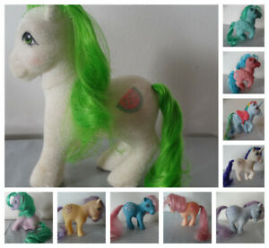 Vintage My Little Pony G1 1982-83 Hasbro U PICK: watermelon, Medley, Moonstone