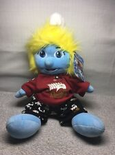 "(X) NIOP Build-A-Bear 17"" SMURFETTE SMURF With Pirate Outfit W/Tags"