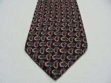 STANLEY BLACKER - PAISLEY - VINTAGE - MADE IN USA - ITALIAN SILK NECK TIE!