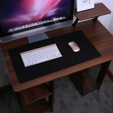 Anti-slip Large Gaming Mouse Pad Keyboard Mat Laptop Computer PC Mice Mat Black