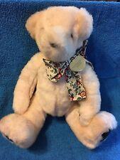 """VICTORIA'S SECRET PLUSH 15"""" PINK TEDDY BEAR BY GUND"""