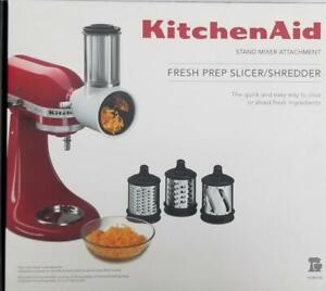 Fresh Prep Slicer/Shredder Attachment KSMVSA For KitchenAid Stand Mixer