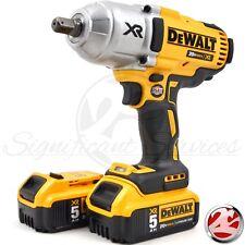 """DeWALT DCF899 20V XR Brushless 1/2"""" Detent Impact Wrench 2 5.0 Ah DCB205 Battery"""