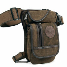 Men Drop Leg Bag Waist Fanny Pack Tactical Military Belt Motorcycle Rider Bags