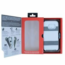 Brand New Pelican Voyager White/Gray Case & Belt Clip For Samsung Galaxy S7