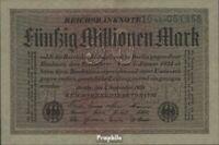 Deutsches Reich Rosenbg: 108b, Wasserzeichen Kreuzblüten 6stellige Kontrollnumme