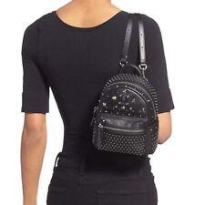 McmStudded Stark Bebe Boo X-Mini Leather Strap Black Backpack $1295