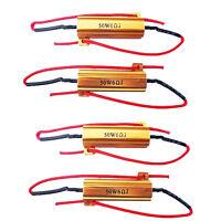 4 x LED Turn Signal Load Resistor 50W 6OHM Fix Error Fast Flash Blink Sales