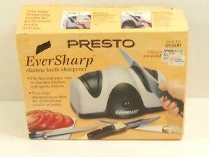 New PRESTO EVERSHARP Electric Knife Sharpener #08800 Two Stage System NIB