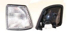 BMW E32 7 Series Clear Corner lights turn signal PAIR Left + Right 1987 - 1994